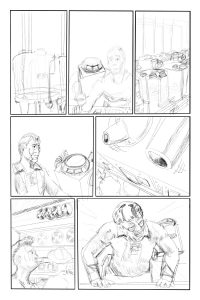 Thru issue 3 Page 25 pencil