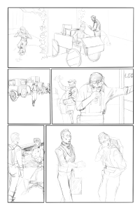 Thru issue 4 page 3 pencil