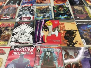 Thru Issue 4 on the New Comics Table