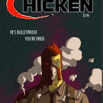 The Cover image from King Bone Press' Bulletproof Chicken