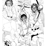 Vampire of the Lost Highway Page 14 Pencils